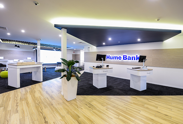 Hume Bank branches remain open.