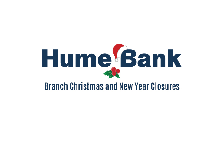Branch Christmas and New Year Closures