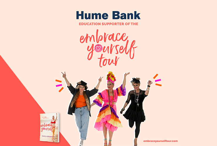 Hume Bank Supports Embrace Yourself Tour