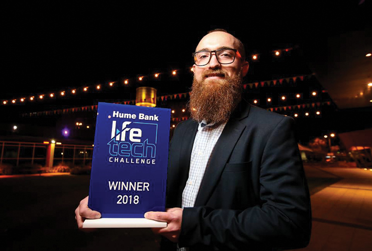 Hume Bank Announces 2018 Life Tech Challenge Winner and Rising Star